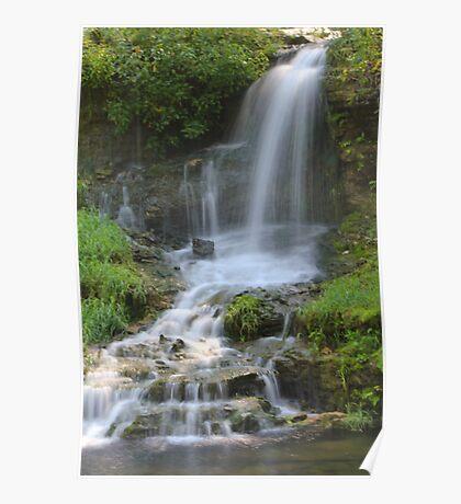 Thunder Falls, Dogwood Canyon Branson Mo Poster