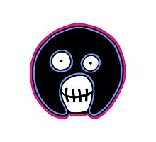 The Mighty Boosh –  Blue & Pink Mask Photographic Print