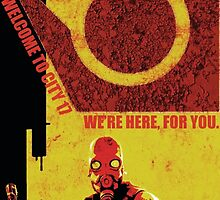 Half Life Metro Police Propaganda  by AlcatrazGraphic