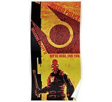 Half Life Metro Police Propaganda  Poster