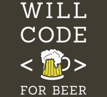 Will code for beer by Stock Image Folio