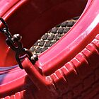 Red Tire by Martha Andreatos