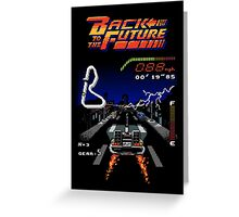 Back to the Future! Greeting Card
