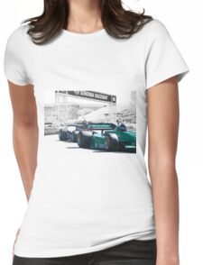 Vintage Formula One 'F1' Racecars Womens Fitted T-Shirt