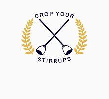 Drop Your Stirrups!  Men's Baseball ¾ T-Shirt