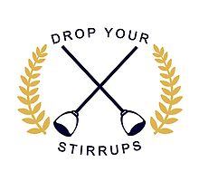 Drop Your Stirrups!  by vvdoodles