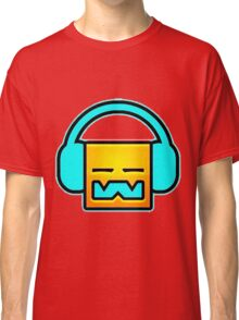 Geometry Dash headphones Classic T-Shirt