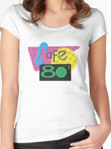 Cafe 80s – Back To The Future II, Marty McFly, Pepsi Perfect Women's Fitted Scoop T-Shirt