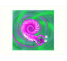 Weird Snail Creature Art Print