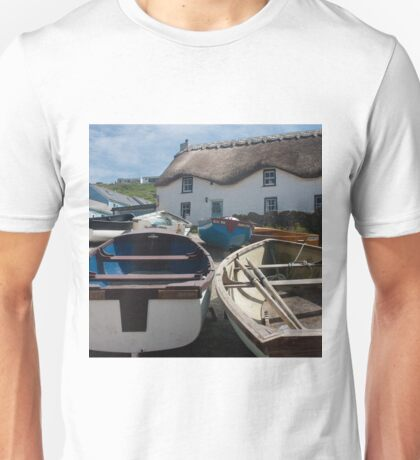 Tinker Taylor Cottage Sennen Cove Cornwall Unisex T-Shirt