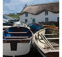 Tinker Taylor Cottage Sennen Cove Cornwall Photographic Print