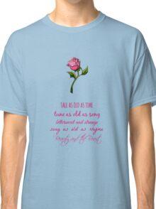 Beauty and the Beast Lyrics Classic T-Shirt