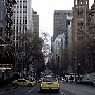 Yellow Cabs Melbourne by waxyfrog
