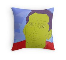 100% Cage Throw Pillow