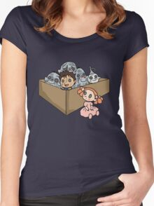 A Box of Trolls Women's Fitted Scoop T-Shirt