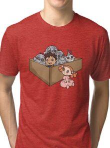 A Box of Trolls Tri-blend T-Shirt