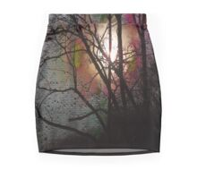 Sunset And Raindrops Pencil Skirt