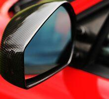 Ferrari F430 Carbon Fiber Mirror  -Drivers by Daniel  Oyvetsky