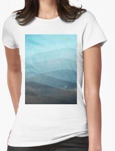 Aquamarine Womens Fitted T-Shirt