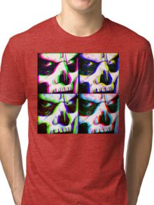 DON'T ADJUST YOUR SET - Papa Emeritus II Tri-blend T-Shirt