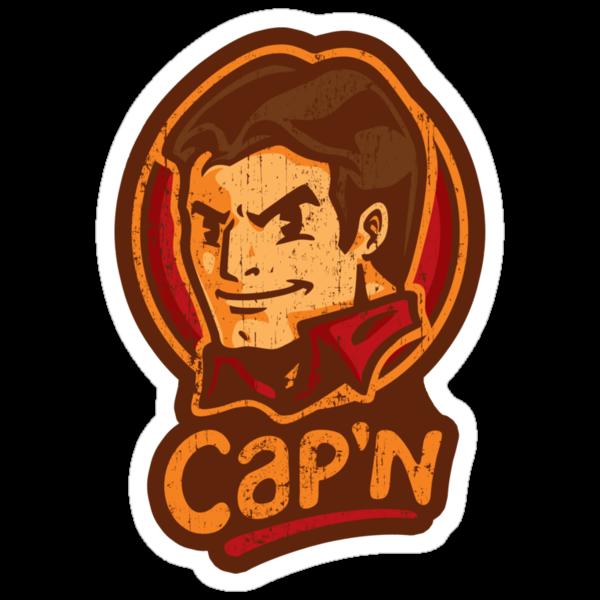 Cap'n! - STICKER by WinterArtwork