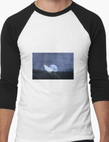 Across The Sea A Pale Moon Rises Men's Baseball ¾ T-Shirt