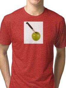 An Apple Tri-blend T-Shirt