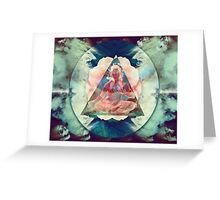 The Miracle of the Ombuddha! Greeting Card