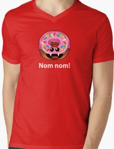 NOM NOM! Mens V-Neck T-Shirt