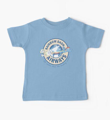 Rainbow Dash Airways Baby Tee