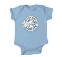 Rainbow Dash Airways One Piece - Short Sleeve