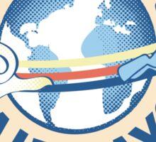 Rainbow Dash Airways Sticker