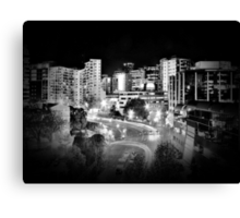 Mayoral Drive, Downtown Auckland, New Zealand. Canvas Print
