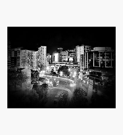 Mayoral Drive, Downtown Auckland, New Zealand. Photographic Print