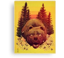 'OTSO-King of the Forest' Canvas Print