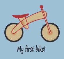 My first bike by Jonmcnab