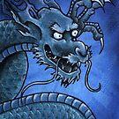 Green Oriental Dragon by Lee Twigger