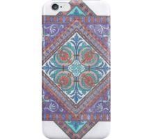Coloring: Lila purple tiles  iPhone Case/Skin