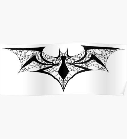 Spider-Bat Poster