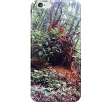 tree root profile iPhone Case/Skin