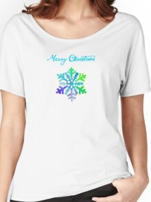 Dazzling Snowflake Women's Relaxed Fit T-Shirt