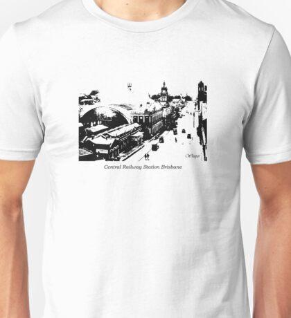 Whisper Central Railway Station Brisbane Unisex T-Shirt