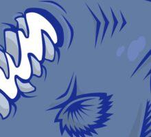 7 colors vector Piranha Sticker
