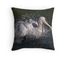 Rising Damp Throw Pillow