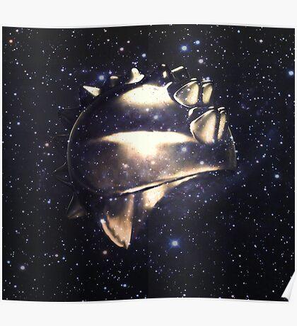 Ancient Warrior Helmet Poster