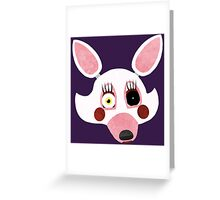 Five Nights at Freddy's 2 - Mangle Face Greeting Card