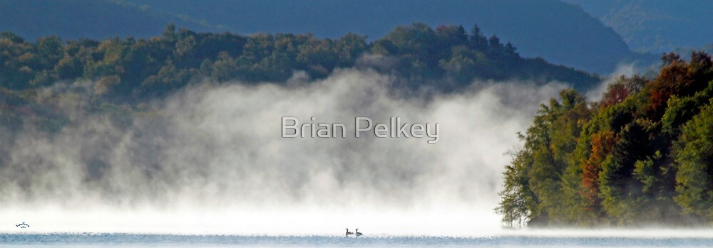 Steamy Adirondack Love Affair by Brian Pelkey