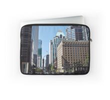 Skyscrapers avenue at Vancouver   Laptop Sleeve