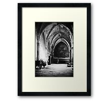 Inside the Cathedral of Toledo, Spain Framed Print