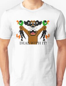 Duck Hunt Deal With It! T-Shirt